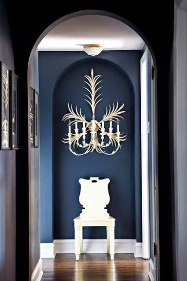 decoracion vintage de pared candelabro