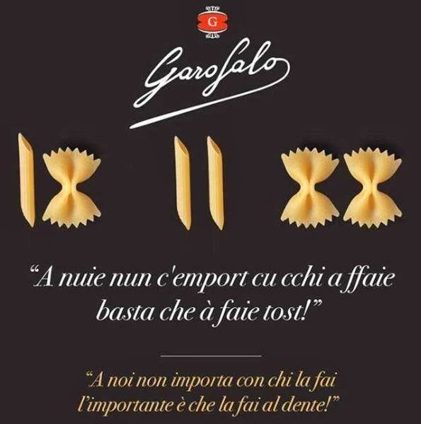 Garosalo Pasta for Sexual Equality