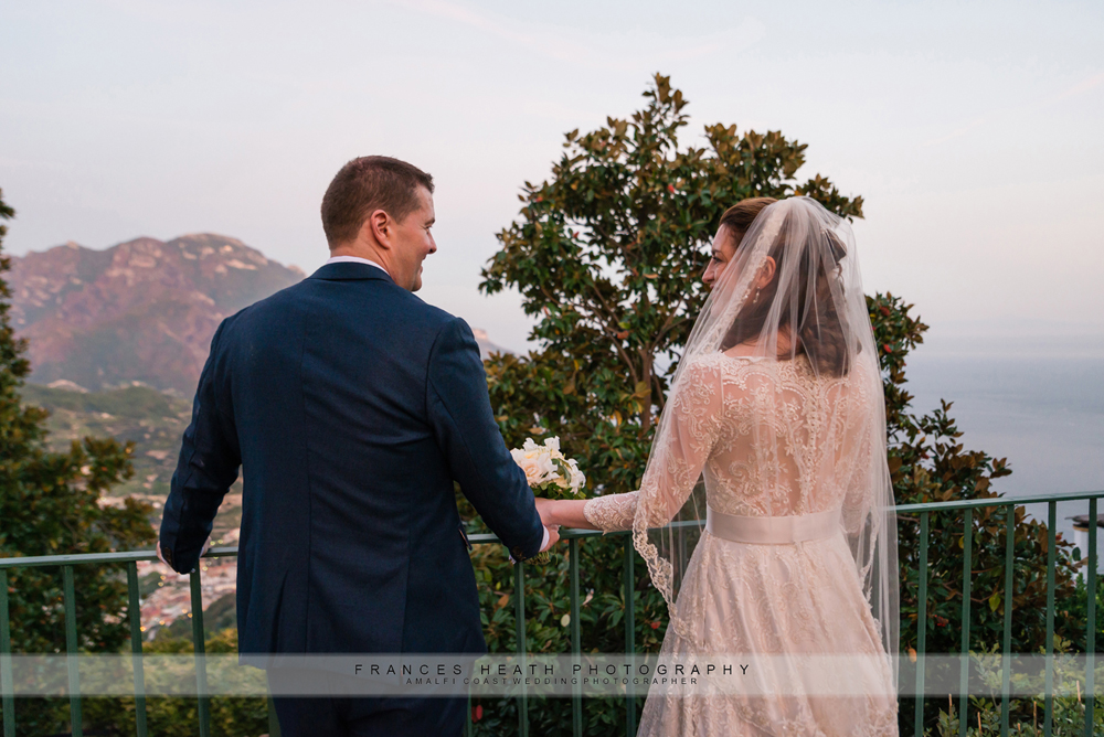 Ravello vintage wedding