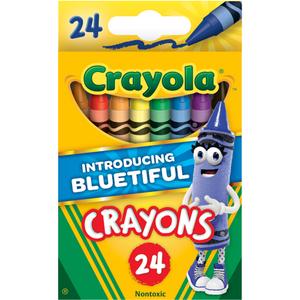 Bộ Tô Bút Màu Sáp Crayola Notoxic 24 Màu Cho Bé  Hàng Mỹ Xách Tay