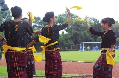 Tari Tea Eku Tarian Tradisional Boawae Nagekeo Flores Nusa Tenggara Timur