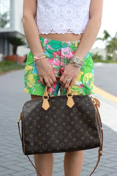 Lilly Pulitzer Eyelet Crop Top Louis Vuitton Michele Watch