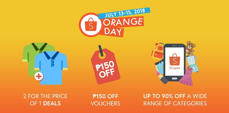 Shopee Orange Day Campaign