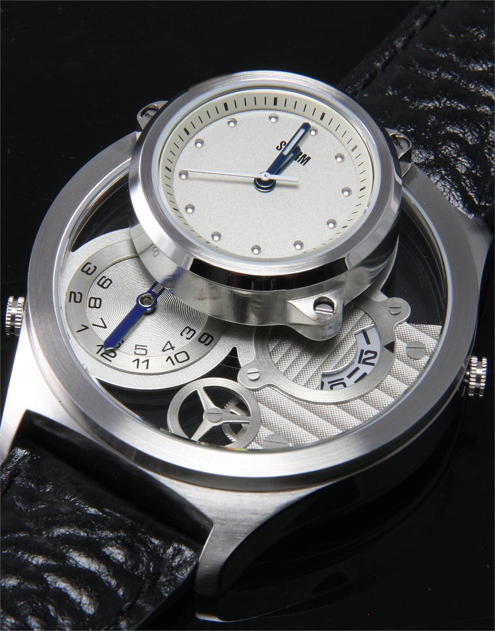 Watchismo times storm trilogy watch double decker for Watchismo