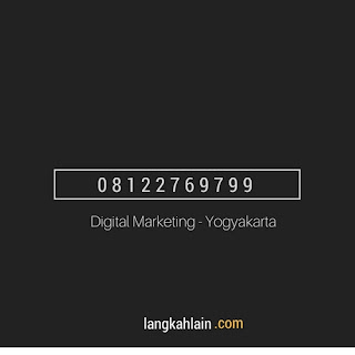 DIGITAL MARKETING - di JOGJA BY LANGKAHLAIN