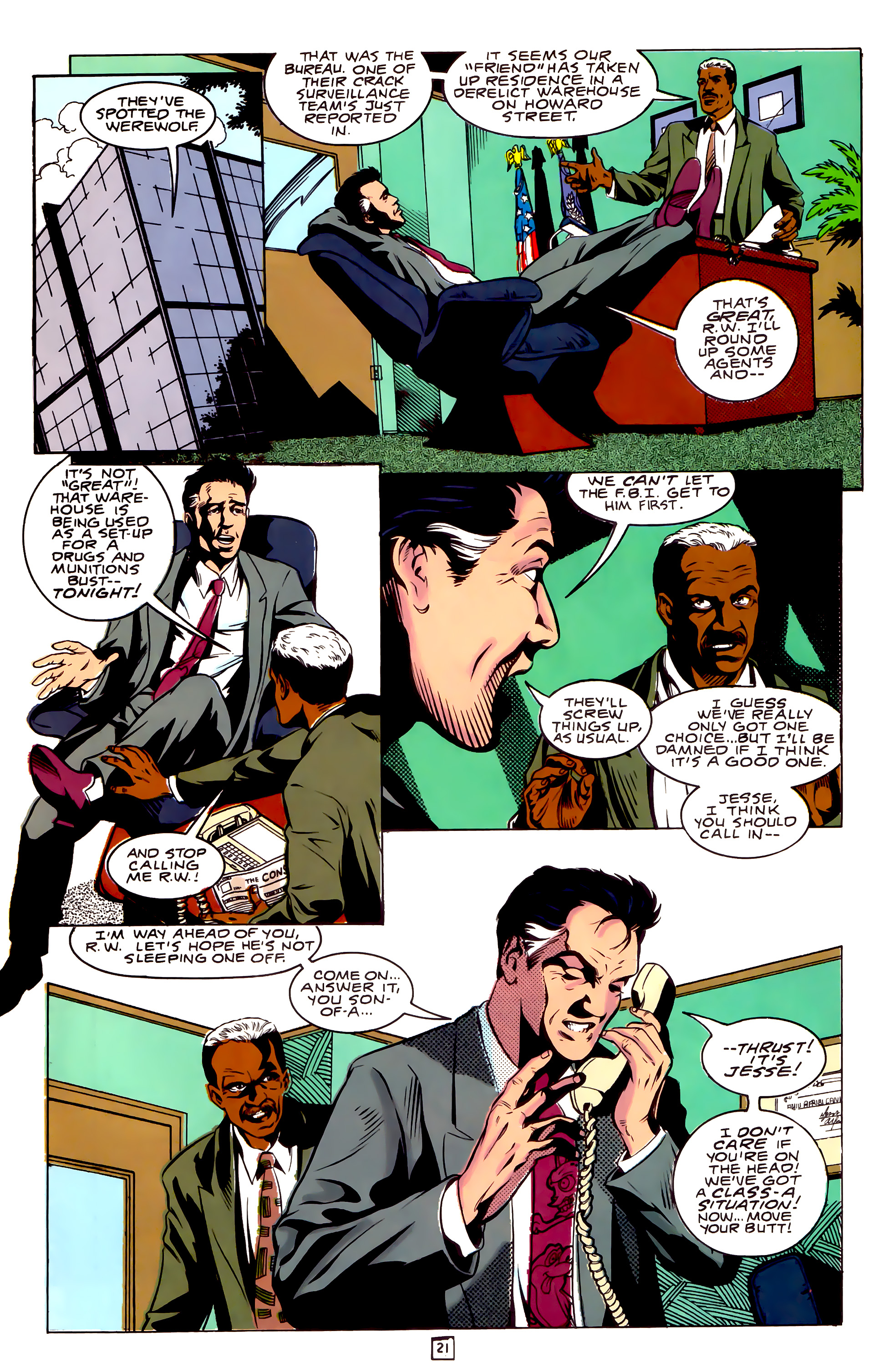 Legion of Super-Heroes (1989) _Annual_3 Page 21