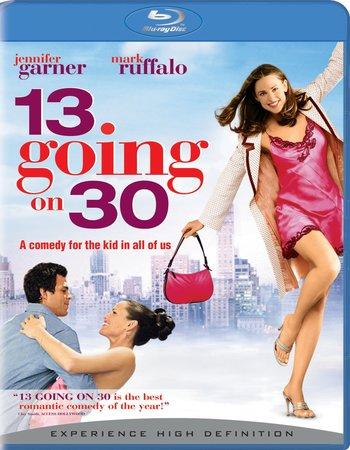 13 Going On 30 (2004) Dual Audio Hindi 720p BluRay