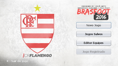 Skin do Flamengo - Brasfoot 2016