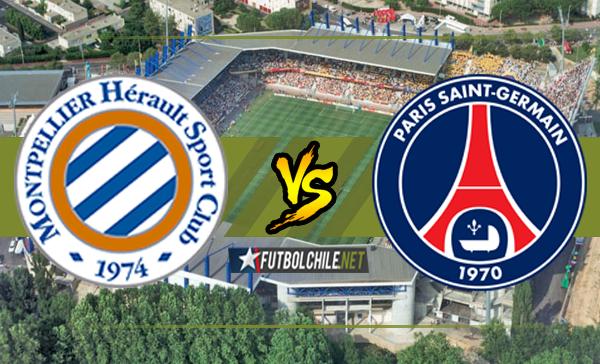Montpellier vs París Saint-Germain