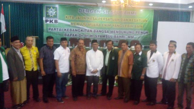 PKB Muara Enim Dukung Pak Syamsul Bahri
