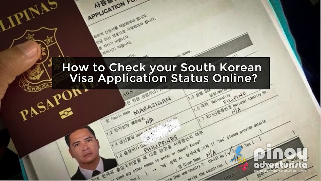 Check your South Korea Visa Application Status Online