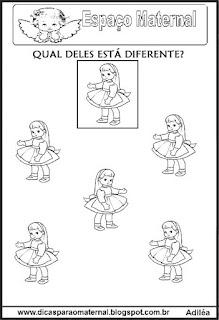 Marcar objetos diferentes maternal