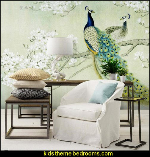 Peacock Wallpaper murals Peacock Wallpaper murals
