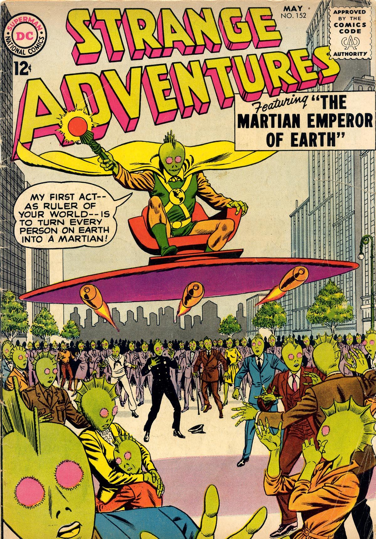 Strange Adventures (1950) issue 152 - Page 1