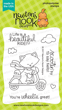 Newton's Nook Designs Newton Scoots By Stamp set
