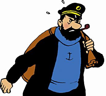 Kapten haddock röst
