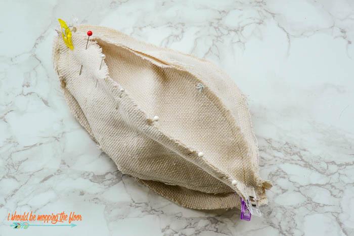 Sewing Fabric Pumpkins