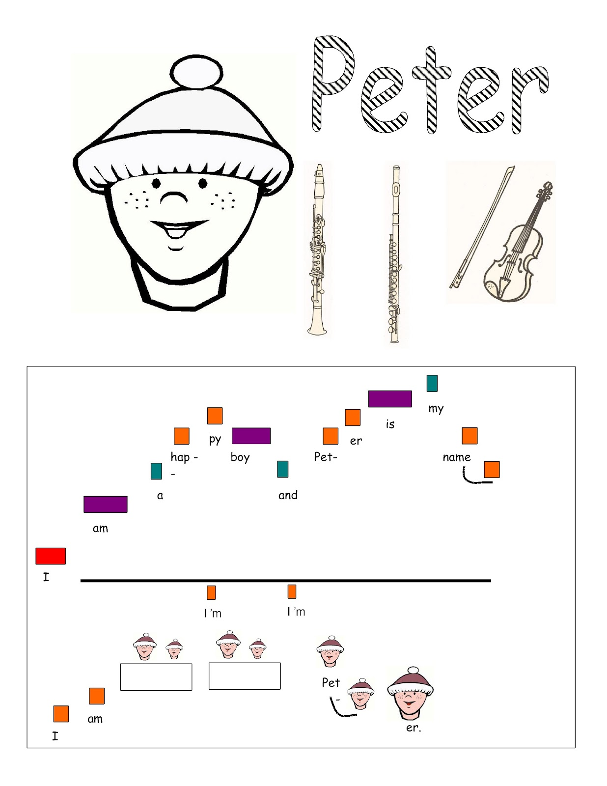 Music Lessons for the Young Child: Peter and the Wolf