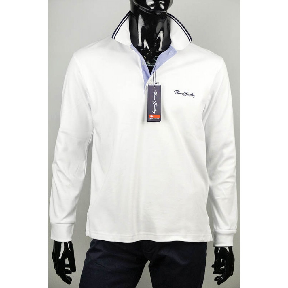Női és férfi póló divat  Thomas Breitling hosszú ujjú férfi pólók 4c31810465