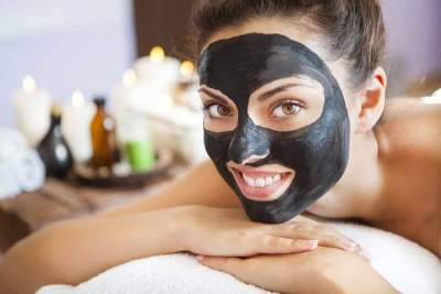 Deep Cleaning Black Mask Purifying Facial space Mask