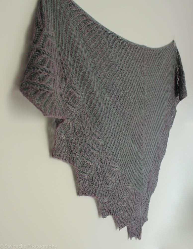 Brioche Knitting Pattern : Birkenwasser knits: Briochangle shawl