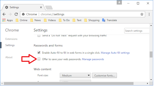 Stop Web Browser Asking to Save your Passwords (Chrome Firefox Edge),How to Stop auto saving password in all web browser and all website,dont save password,stop asking to save password firefox,stop asking to save password chrome edge,stop asking password save,stop asking to save password chrome,would you like to remember the password,do you want to save your password,stop auto save password,stop password for all website,remove password,dont save password for website