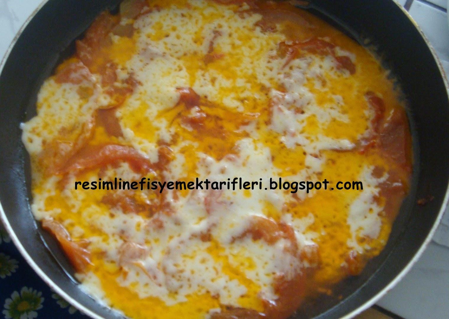 kaşarlı domates tarifi