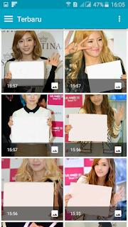 Cara Mudah Membuat Kartu Ucapan Style FansSign (FS) di Android