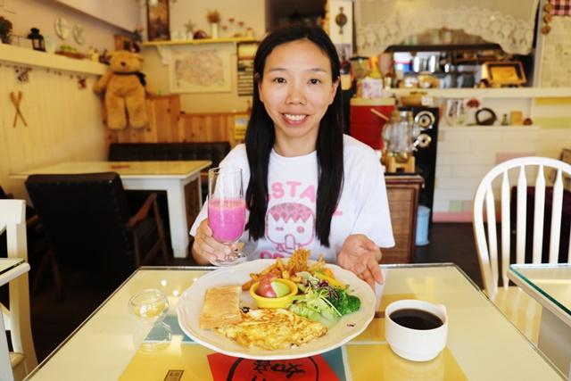 小品在花蓮素食丸子私人蔬食廚房吃早午餐