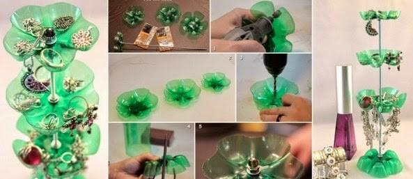 kerajinan barang bekas dari gelas plastik 2