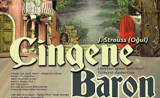 Çingene Baron Opera Konusu (Johann Strauss II)