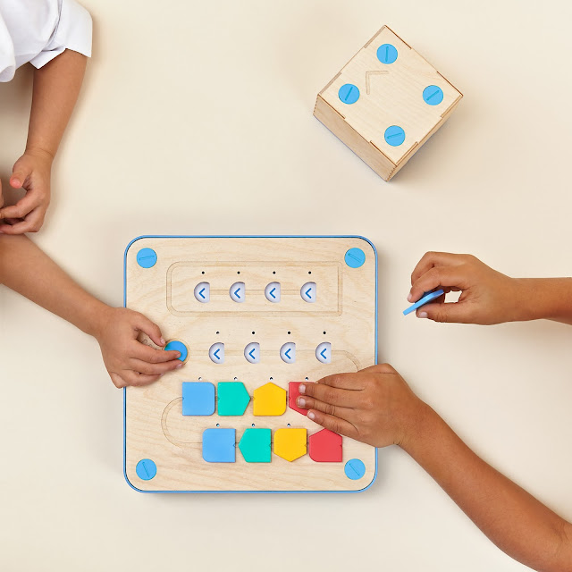 Give your kids the tools they need to learn programming skills as young as age 3 with the Montessori-approved Cubetto from Primo Toys!