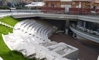 Estadio o Circo Romano de Plovdiv.