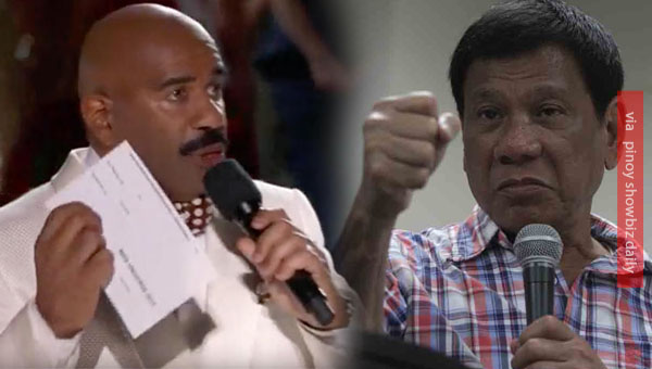 President Duterte rejects Steve Harvey to host Miss Universe 2016