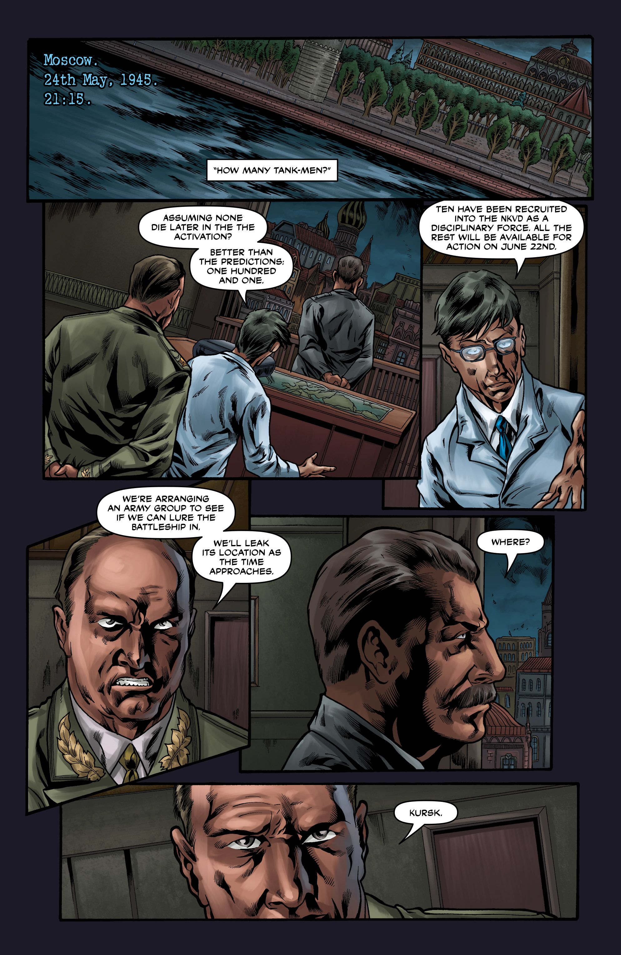 Read online Uber comic -  Issue #9 - 6