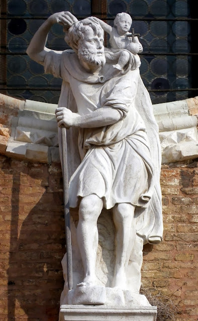 Saint Christopher, the church of Madonna dell'Orto, Venice