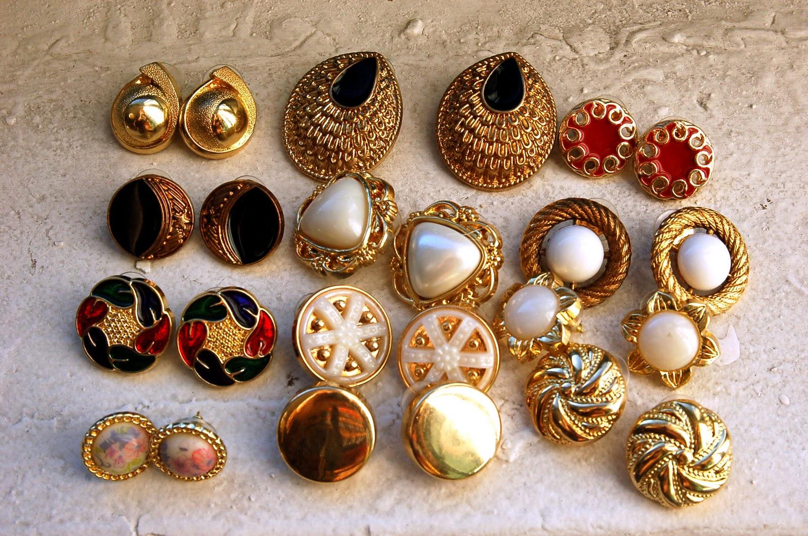 Diy Vintage Earrings What