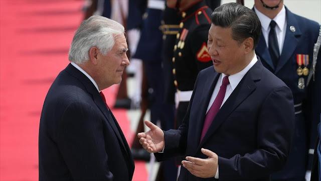 China toma nota: EEUU detendrá él mismo a Corea del Norte
