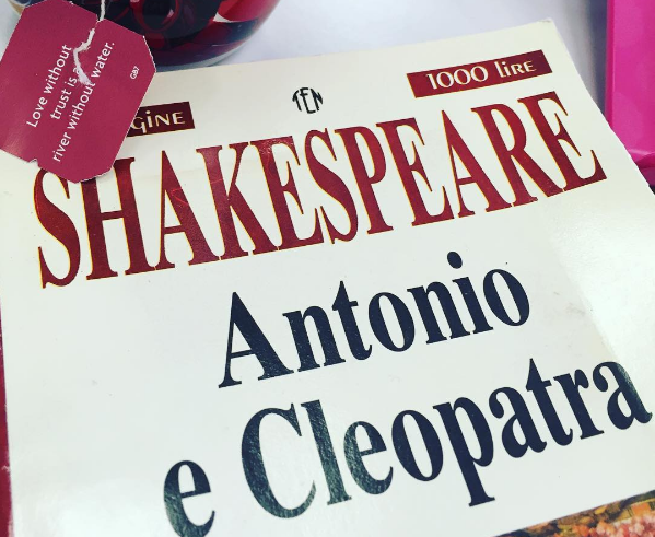 antonio e cleopatra shakespeare