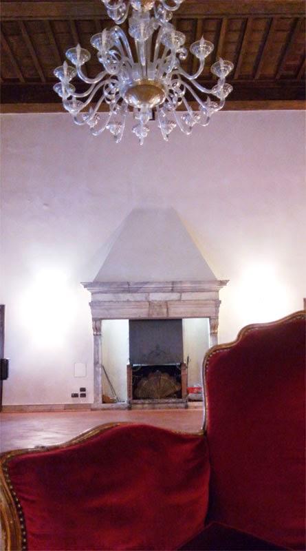 sala lareira columbus - Hotel Columbus - onde ser recebido como um papa