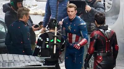 Avengers 4 endgame set photos