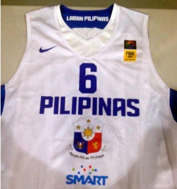 b874c3a4702 Smart Gilas Pilipinas Basketball team New uniforms
