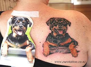 Rottweiler Tattoo