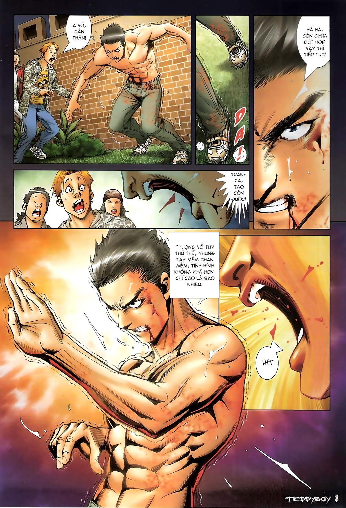 Người Trong Giang Hồ - Chapter 1366: Chó Xám - Pic 6