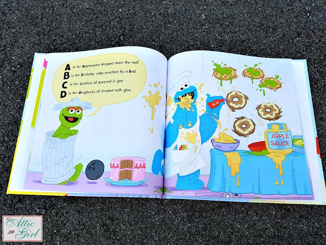 Learn your ABC's, Teach Your Child Abc's, personalized books, personalized gifts, Put Me in the Story, Sesame Street books