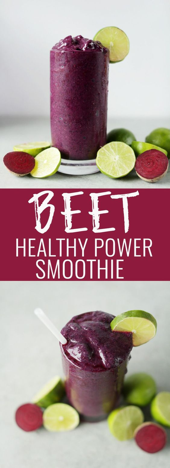 BEET THE COLD SMOOTHIE
