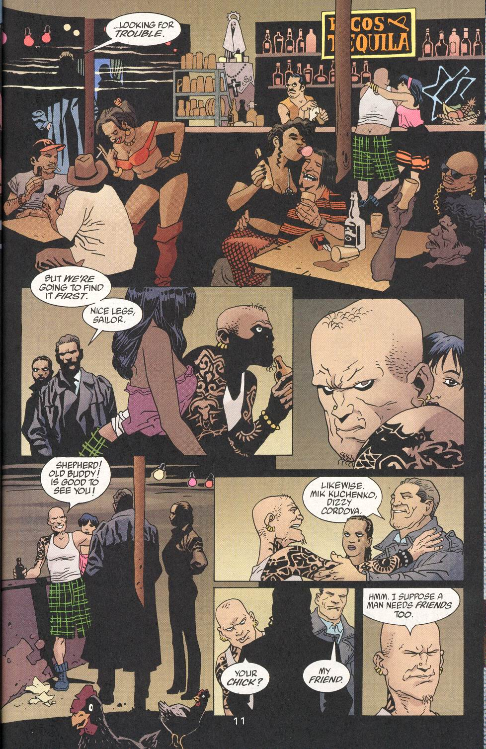 Read online 100 Bullets comic -  Issue #29 - 12