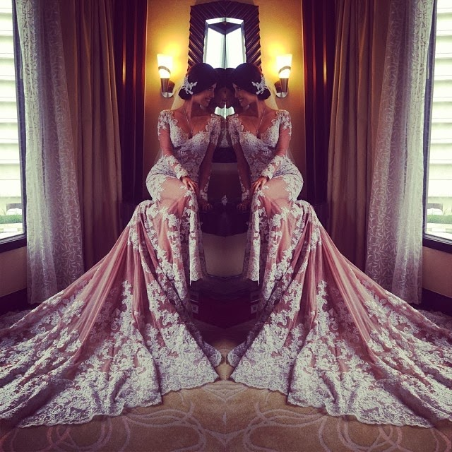 Shamcey Supsup wedding gown