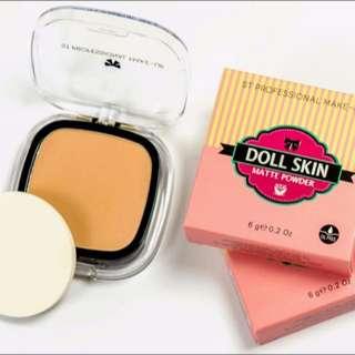 Normal Price : RM 37.10 Member Price : RM 35.25   ✿ Nak beli dengan harga ahli ? ✿ Whtsapp 0134040411 → confirm dapat harga ahli TANPA perlu daftar ☺  Doll Skin Matte Powder