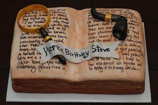 Resultado de imagen de sherlock holmes cake